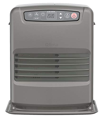 Qlima SRE3631TC-2 Independiente Eléctrico Gris, Metálico - Estufa (Independiente, Gris, Metálico, 5 L, Botones, Japón, ISO 9000:2000)