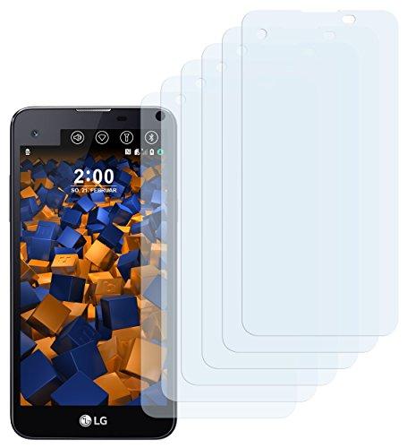 mumbi Schutzfolie kompatibel mit LG X Screen Folie klar, Bildschirmschutzfolie (6x)