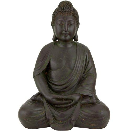 Oriental Furniture 2 1/4 ft. Tall Buddha Statue