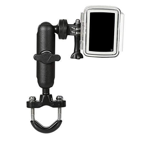 Fahrradhalterung für Actionkamera,MoreChioce 360 Grad Rotation Lenker Kamerahalterung Aluminiumlegierung Motorrad Mount Aktion Kamera Zubehör Klemme Halter kompatibel mit GoPro,Lenker