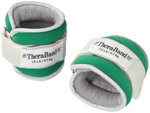Thera-Band® Gewichtsmanschetten (Paar), grün, je 700 g