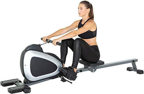 Rameur de salle de sport à domicile, pliable, résistance magnétique, appareil de rameur pour...