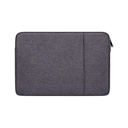 Laptop Sleeve Compatible with 13 -13.3 Inch MacBook Air and MacBook Pro, Compatible for 13' Notebook Tablet iPad Tab, Waterproof Shock Resistant Computer Bag Case with Accessory Pocket, Space Gray