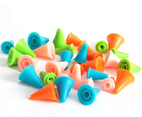 Needles Protectors 5 Colors-2 Knit Knitting Needles Point Protectors//Stoppers Needles Stoppers Knitting//Crochet//etc.Colorful Stitch stoppers