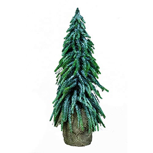 2 feet Artificial Christmas Tree, Wall Hanging Table Christmas Decoration, Green (1.5FT)