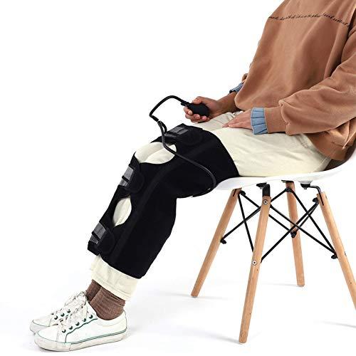 Banda de cinturón correctora de pierna eléctrica inflable, elasticidad Soft Scientific Corrección de pierna Cinturón de corrección Brace Banda de corrección de pierna Pierna tipo X Deformación ósea de