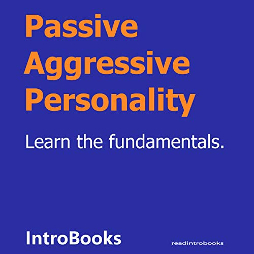 Passive Aggressive Personality  By  cover art
