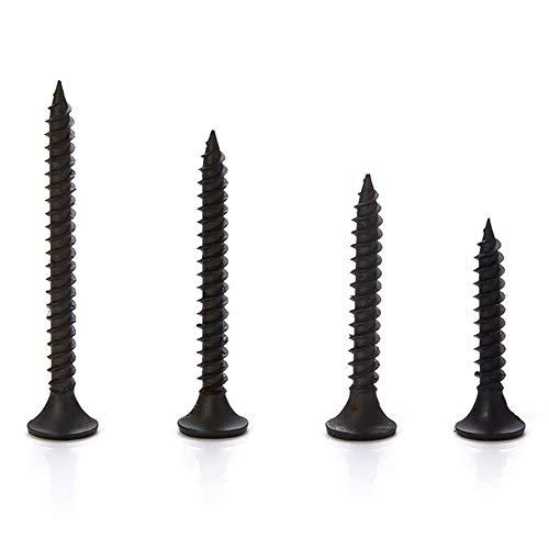 Tirafondos Tornillos M3.5 20-50PCS Cruz de cabeza plana tornillo autorroscante de Yeso...