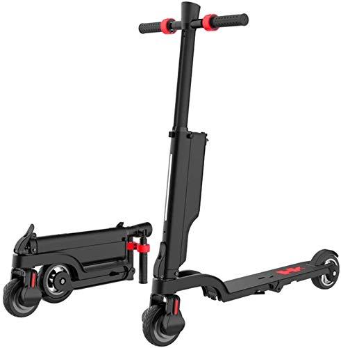 Bicicleta eléctrica de nieve, Bicicletas eléctricas rápidas for adultos 3 en 1 Scooter Eléctrico Monopatín del coche eléctrico con carga USB y Bluetooth Altavoz Velocidad máxima 25 kmh, Correr Distanc
