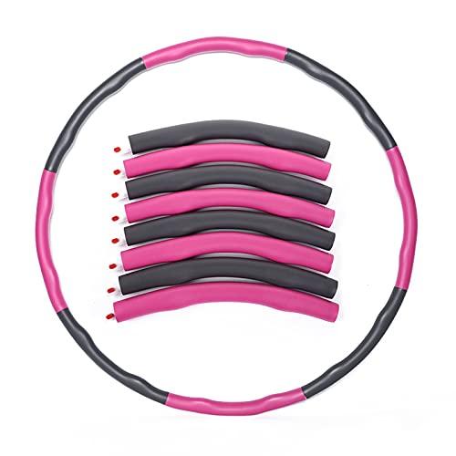 BENEFAST Fitness Hula Reifen für Erwachsene & Kinder zur Gewichtsabnahme...