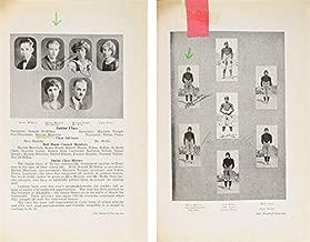 John Wayne Twice Signed 1924 Glendale Union High School Yearbook BAS #A72828 - Beckett Authentication
