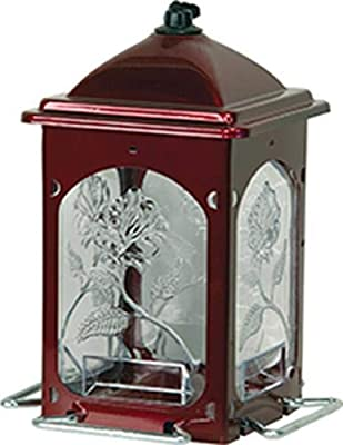 Homestead Scarlet Flower Bird Feeder (Jolly Pop Red) - 3522