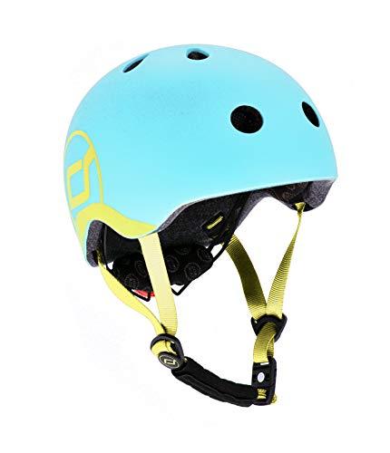 スクート&ライド ヘルメット XXS-S ブルーベリー キックボード ベビー 頭囲45~51cm【日本正規品】