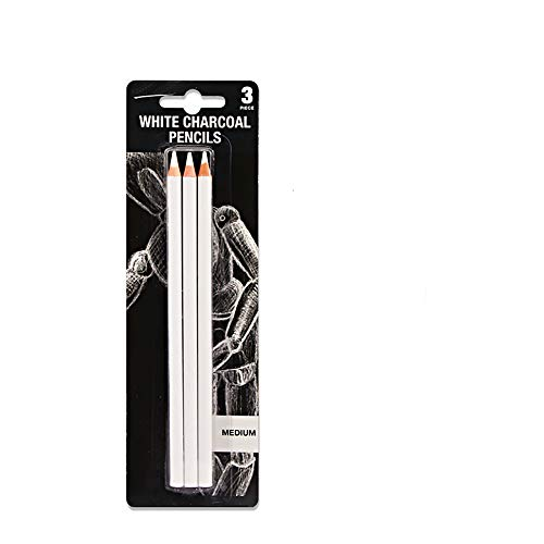 Sketch Highlight Pencil Pen Charcoal White Sketch Pencil Painting Special White Charcoal 3 Stick Set