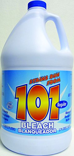 James Austin Co 54200-04053 Regular 3% Liquid Bleach (Pack of 6)