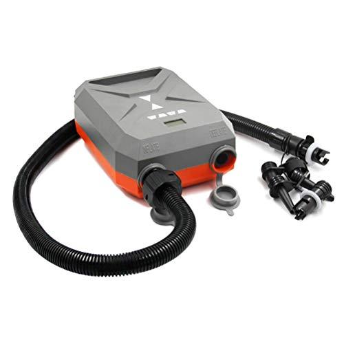SASKATE Elektrische Luftpumpe, 12V Hochdruck Luftpumpe-Digitalanzeige SUP Paddle Board automatische Luftpumpe, verwendet für Schlauchboote, Flöße, Schwimmbäder aufblasbares Spielzeug