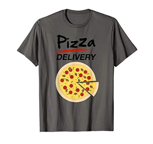 Disfraz de Repartidor Pizzas para Grupos Hombre Mujer Nios Camiseta