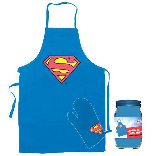 Star images SDTWRN89171 Figurine « DC Comics Superman Tablier et gant de cuisine »