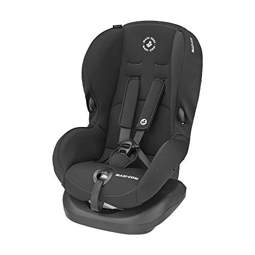 Maxi-Cosi Priori SPS + Kindersitz mit optimalen Seitenaufprallschutz und 4 Sitz- und Ruhepositionen, Gruppe 1 (9-18 kg), nutzbar ab 9 Monate bis 4 Jahre, basic black (schwarz)