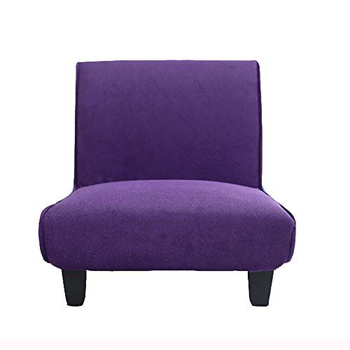 G-Y Canapé Paresseux, Unique Canapé En Tissu Créatif, Élégant Canapé Chambre À Coucher (peut Être Plié) (Couleur : Violet)