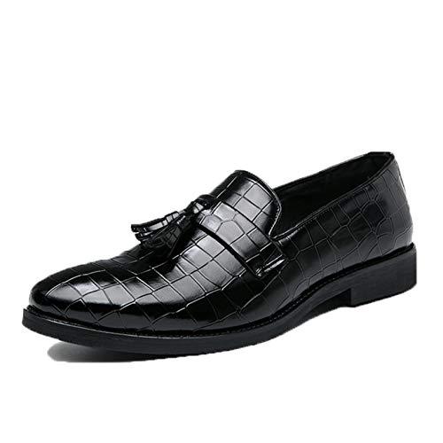 Zapatos de Vestir para Hombre, Mocasines clásicos para Novio, para Fiesta de...