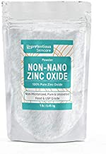 Non-Nano Zinc Oxide, 1 lb. by Unpretentious Skincare, is Naturally Occurring, Pure & Uncoated, Perfect for DIY Sunscreens & Ointments, Packaged in a Convenient Resealable Bag for Storage