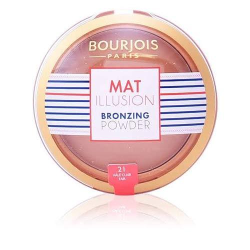 BOURJOIS Mat Illusie Bronzen Poeder, Hale Clair 21 Blister Pack