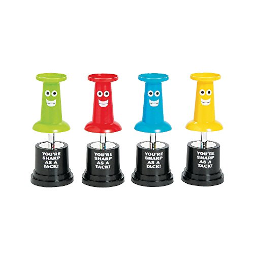 Fun Express Plastic Sharp As A Tack Award Trophies