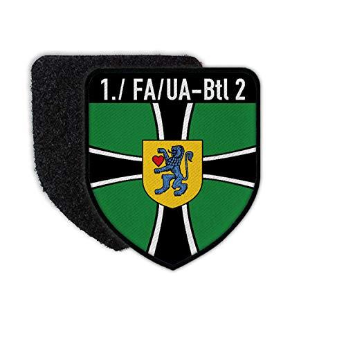 Copytec 1 FA-UABtl 2 Wappen Abzeichen Feldwebelanwärter Kompanie Celle Patch #31352