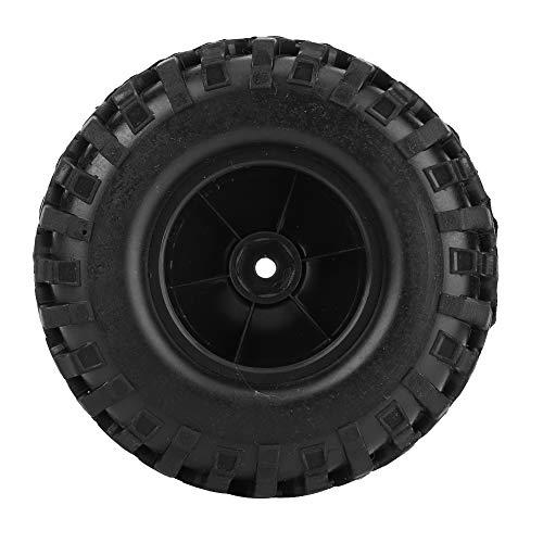 Acessório de carro RC, pneu 1/10 RC, para carro de controle remoto de carro modelo(black)
