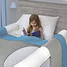 (1-Pack) Extra Long Bed Rail for Toddler | Soft Foam Bed Bumper for Kids | Baby Bed Guard | Child Bed Safety Side Rail | Designed to fit Twin, Full, Queen & King Size Beds