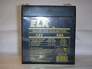 ELK 1250 12V 5.0Ah Lead Acid Battery (B001DPRBDA) | Amazon price tracker / tracking, Amazon price history charts, Amazon price watches, Amazon price drop alerts