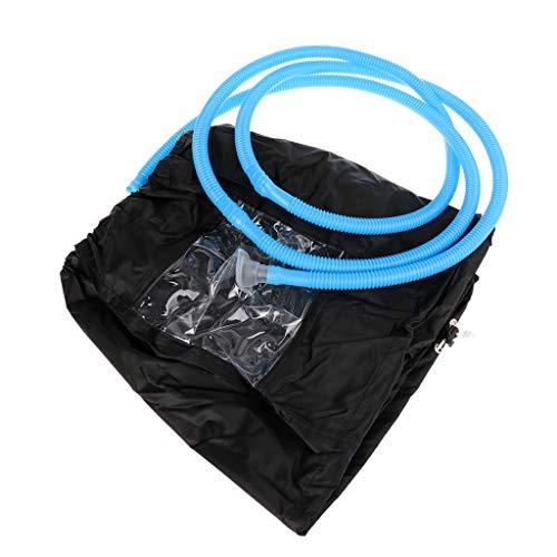 ZZALLL Klimaanlage Reinigung Staubwaschabdeckung wasserdichte Schutzkappe mit 3 m Wasserleitungen reinigen