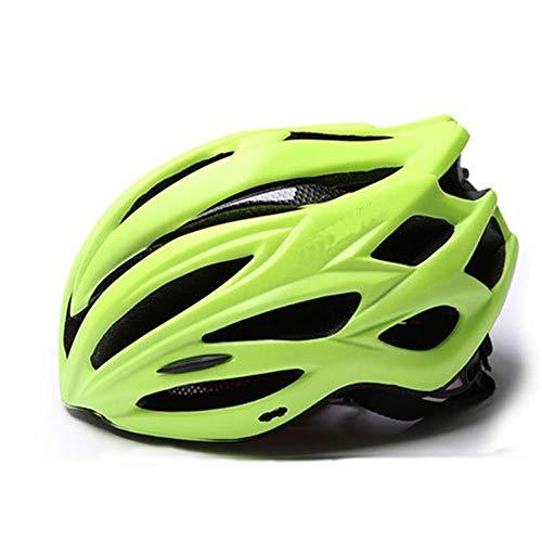 Casco Bici Specialized Mountain Bike Casco con Staccabile Visiera Confortevole Leggero Ciclismo Mountain & Strada della Bicicletta caschi for Adulto Uomini Donne LQHZWYC (Color : Yellow)