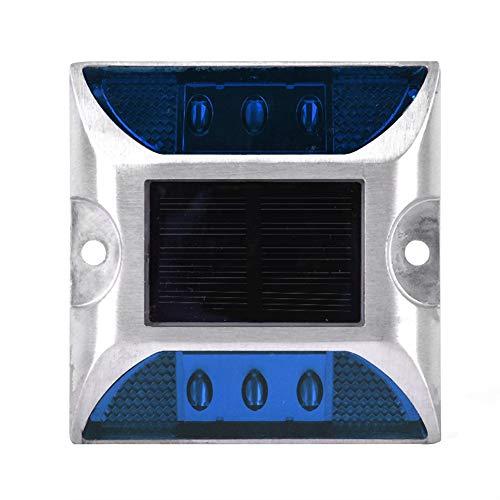Solarbetriebene Bodenbeleuchtung mit großen LED-Bodenleuchten mit reflektierender Helligkeit für den Garten im Freien
