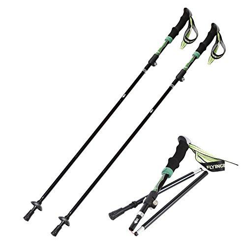 Outad Bastones de Senderismo Trekking Esquí Ligeros y Plega