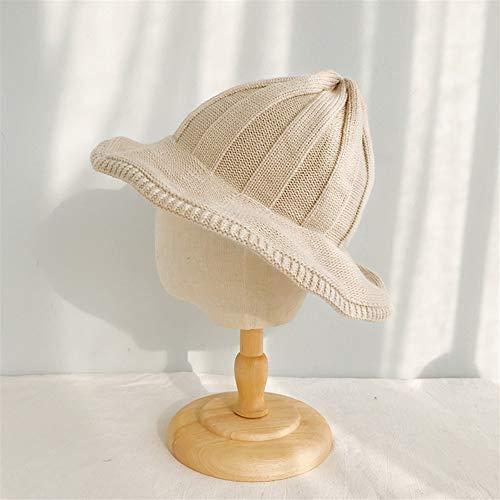 Bin Zhang versión Coreana del Sombrero en Forma de Bota Retro Sombrero Hecho Punto Femenino del otoño y el Invierno Gorro de Lana Caliente japonés Salvaje ollas Lindo Casquillo de la Marea