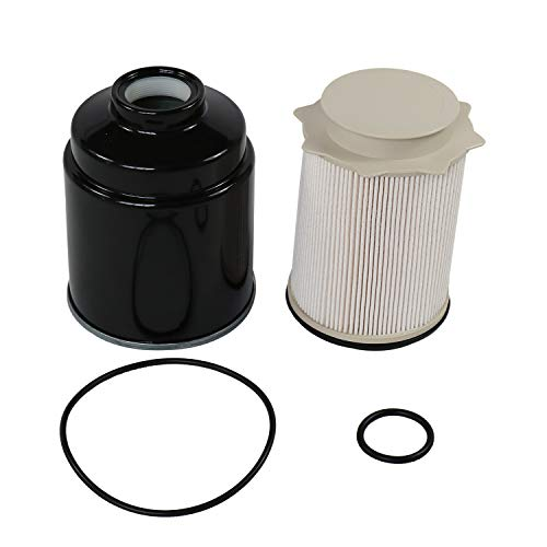CARMOCAR Fuel Filter Water Separator Set replacement for Dodge 6.7L...