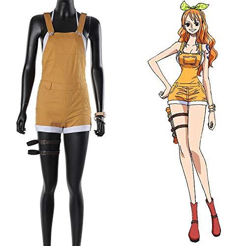 Anime One Piece Stampede Nami Cosplay Kostüm Outfit Full Set Frauen Mädchen Erwachsene Halloween Karneval Kostüm Custom