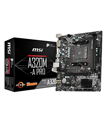 MSI A320M-A Pro - Placa Base AM4 Micro ATX AMD A320
