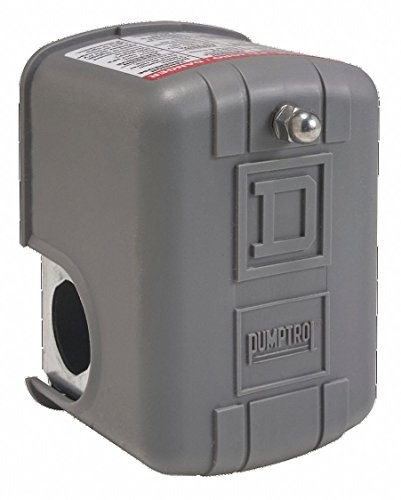 Pressure Switch, Diaphragm, DPST, 50/70 psi