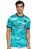Liverpool FC Away - Camiseta de fútbol para hombre (2020/21) - azul - Small