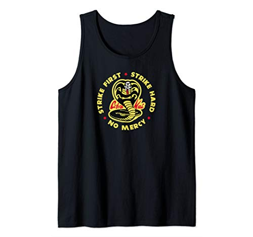 The Karate Kid Cobra Kai 3 Color Tank Top