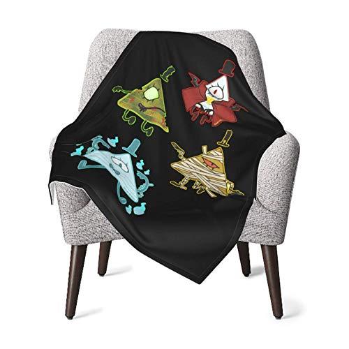 IUBBKI Gra-Vi-Ty FA-Lls Babydecke-weiche Decke Unisex für Jungen, Mädchen, Kinder, Kleinkind, Kleinkind, Neugeborene Größe Schwarz