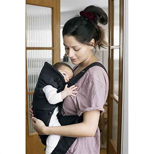BABYBJÖRN Porte-bébé Mini ,Coton, Noir