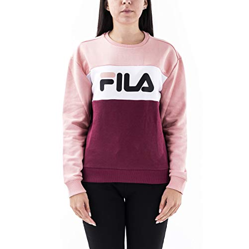 Fila Felpa Leah 687043 Tawny Port Coral Cloud/Bright White (M)