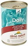 almo nature Daily Menu Chien avec Canard, 400g, Lot de 24