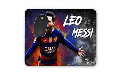 Lionel Messi Barcelona FC Argentina Themed New Mouse Pads Mousepads The Goat