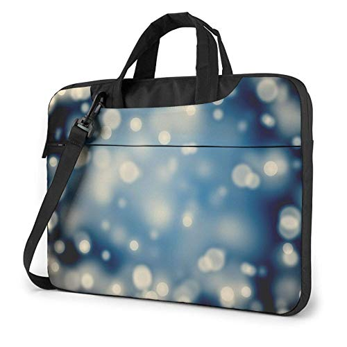 XCNGG Computertasche Umhängetasche Laptop Bag, Honeybee Pattern Business Briefcase Protective Bag Cover for Ultrabook, MacBook, Asus, Samsung, Sony, Notebook 14 inch