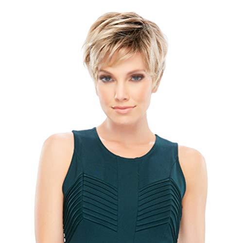 comprar pelucas marrones onduladas online